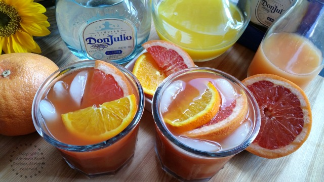 The Vampiro Cocktail combines the flavors of the high quality smoky Don Julio tequila blanco with sangrita and citrus #DonJulio #ad