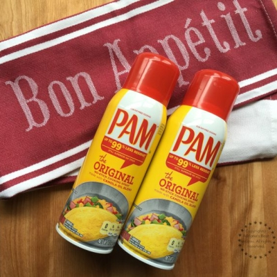 Kitchen Hacks with PAM Cooking Spray