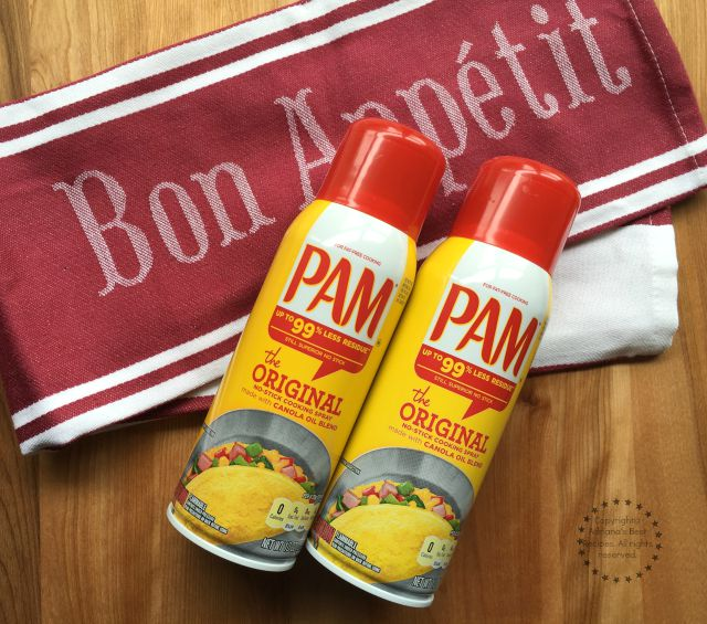 Kitchen Hacks with PAM Cooking Spray #PAMCookingSpray #ad