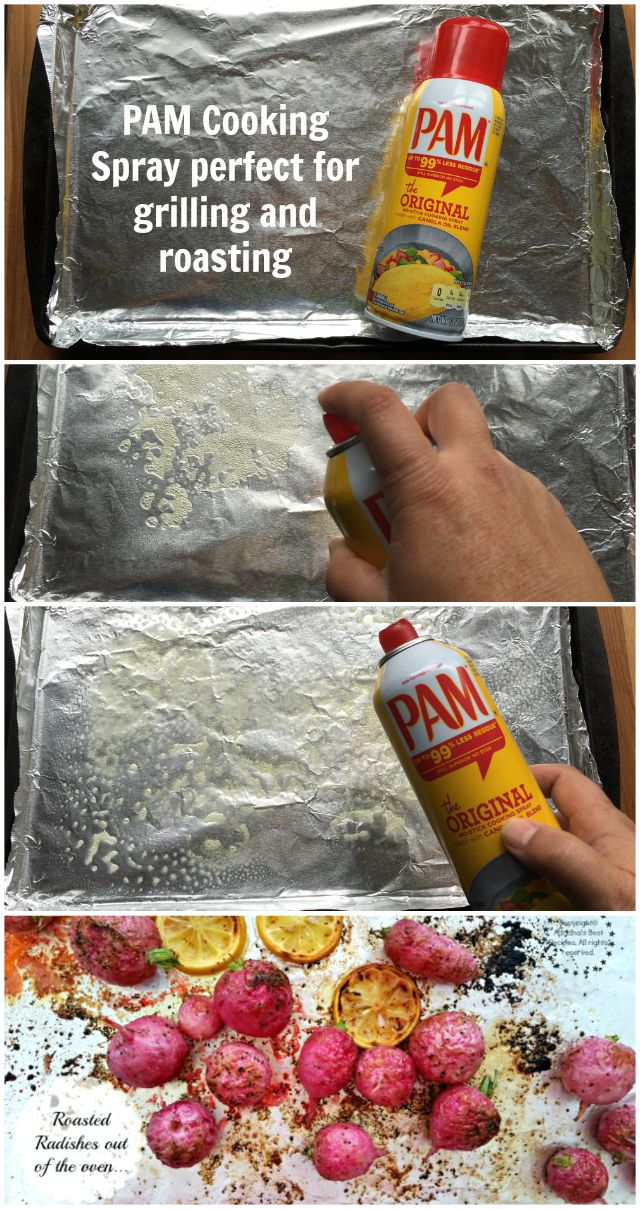 PAM Cooking Spray perfect kitchen hack for grilling and roasting #PAMCookingSpray #ad