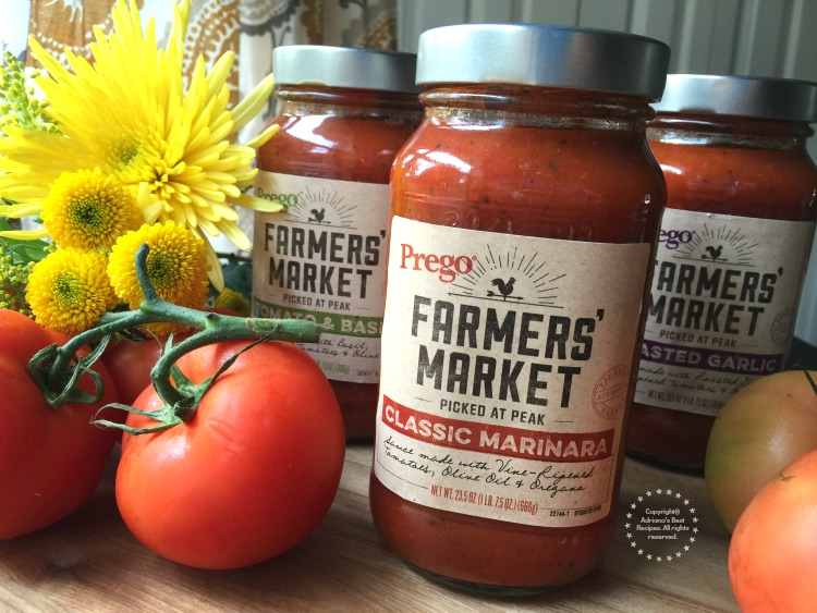 Prego Farmers Market Picked at the peak of freshness