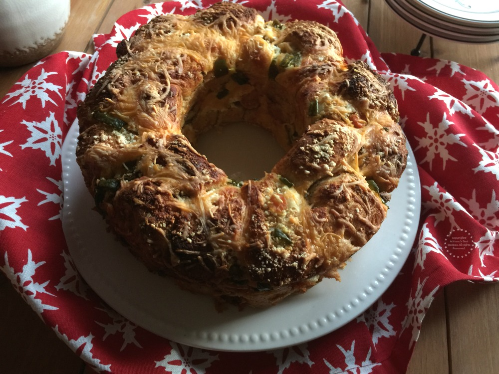 Monkey Bread Mexican Style a savory glorious treat