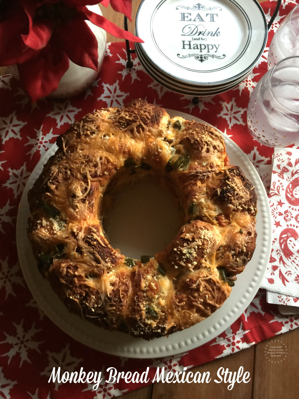 Monkey Bread Mexican Style to eat and be happy this holiday season