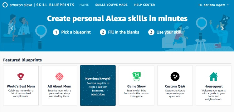 Alexa can deliver personalized compliments to anyone in the household
