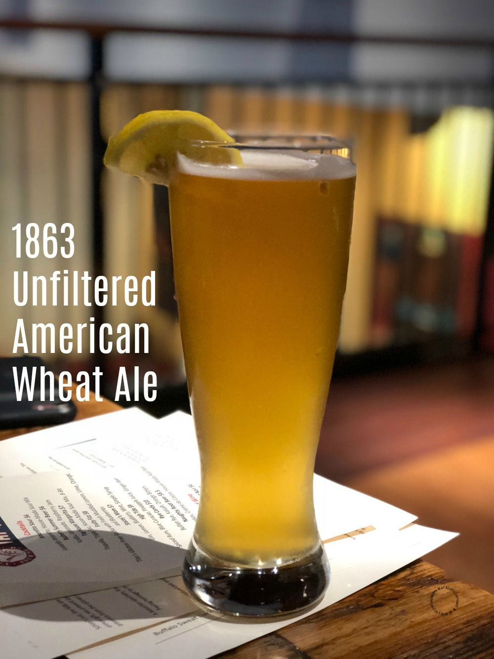 1863 Unfiltered American Wheat Ale