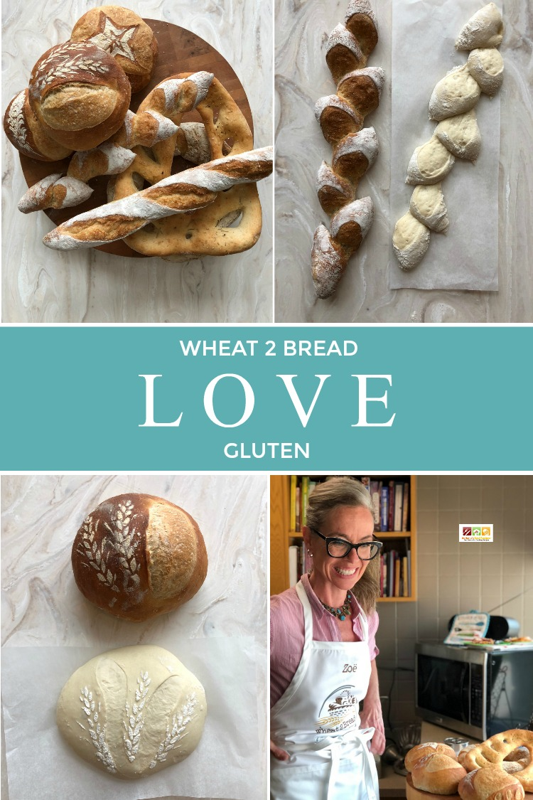 For the love of bread, wheat and gluten