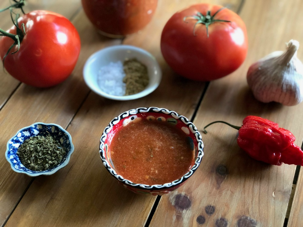 Add a zing to your food with this Roasted Carolina Reaper Salsa