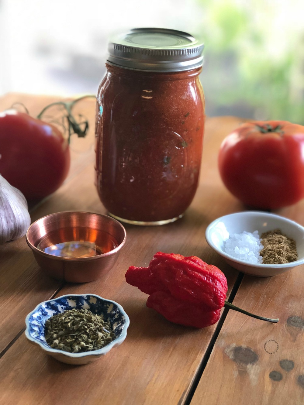This recipe for the Roasted Carolina Reaper Salsa is perfect for canning