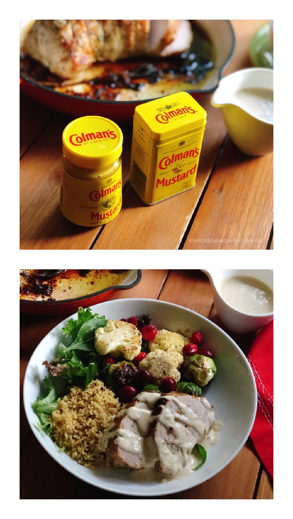 Cooking with Colmans Spicy Mustard