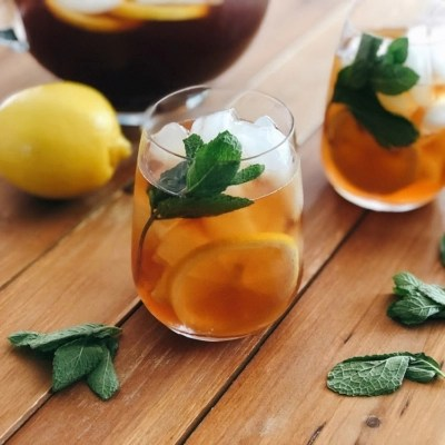This is the recipe for the mojito iced sweet tea