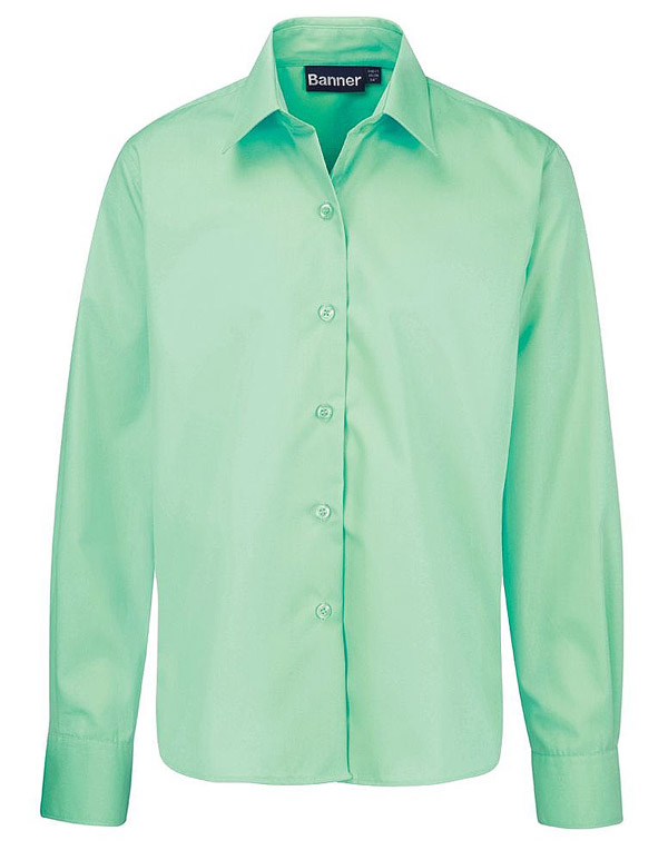 Green Blouse Long Amp Short Sleeve