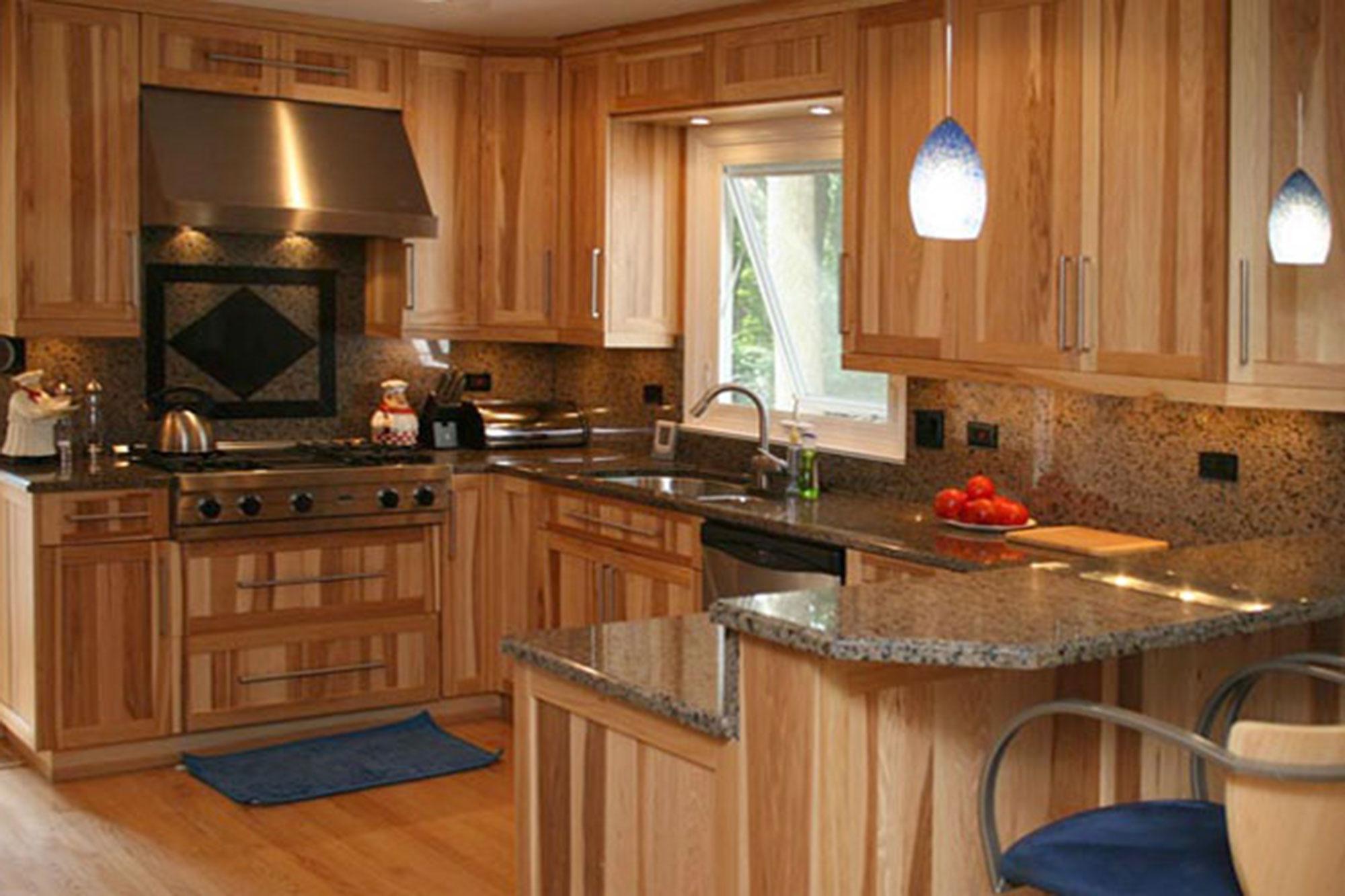 Best Kitchen Gallery: Hickory Cabi S Kitchen Bath Kitchen Cabi S Bathroom of Wood For Kitchen Cabinets on rachelxblog.com