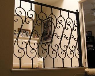 Ornamental Iron Balcony Stair Railings Hand Guard Rails | Stair Rails For Sale | Interior | Steel | Iron Rail | Minimalist | Modern