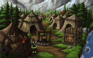 Adventure Game Studio   Games   A Tale of Two Kingdoms Screenshot of A Tale of Two Kingdoms
