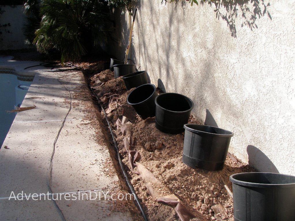 Digging Sprinkler System
