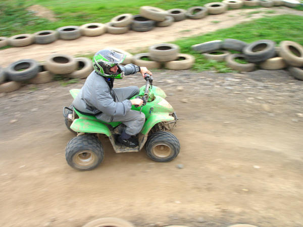 Exciting Quad Biking at Adventures Wales Near Cardiff