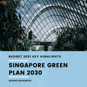 Singapore Green Plan 2030 (Budget 2021 Infographic)