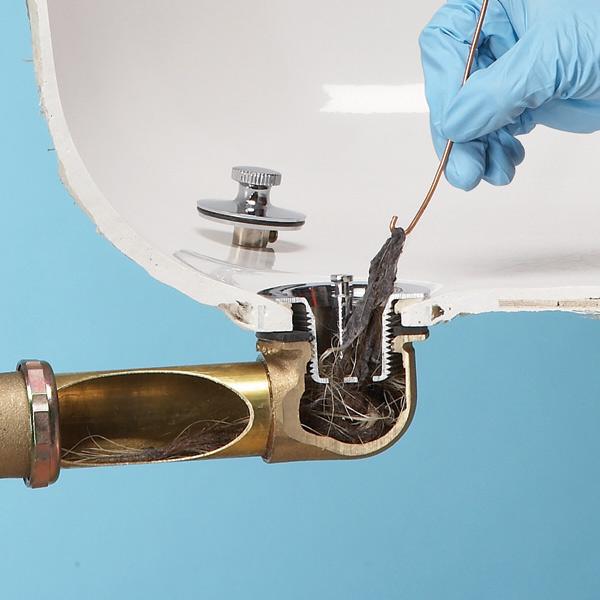 Bathroom Sink Pivot Rod