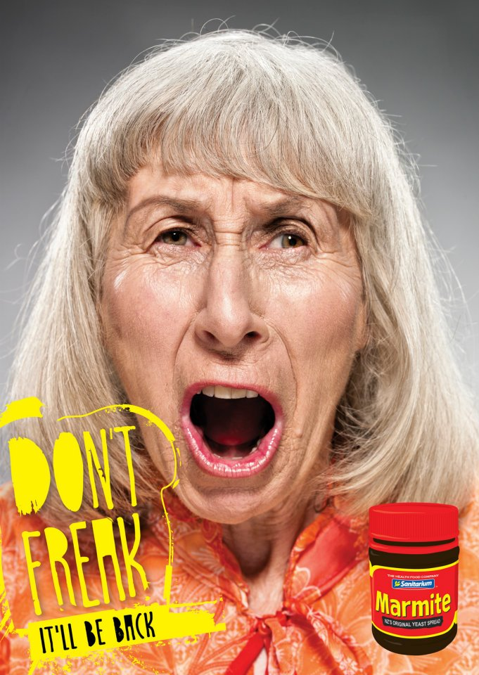 Print Ads Capture Anger And Panic In Wake Of Marmite