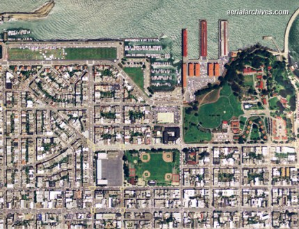 Aerial Maps of San Francisco aerialarchives com aerial map of San Francisco AHLV2011