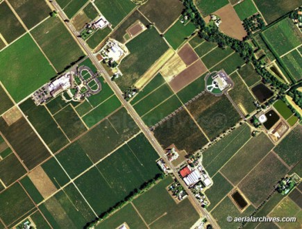 Aerial Maps of Napa Valley  CA aerialarchives com aerial map of the Napa Valley AHLV2013 jpg