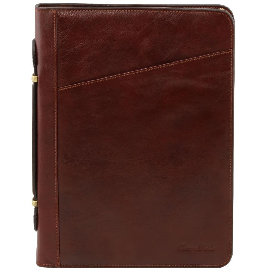 Exclusif Conf    rencier Porte Documents Cuir V    ritable Costanzo     Conf    rencier Porte Documents Cuir Marron  Tuscany Leather