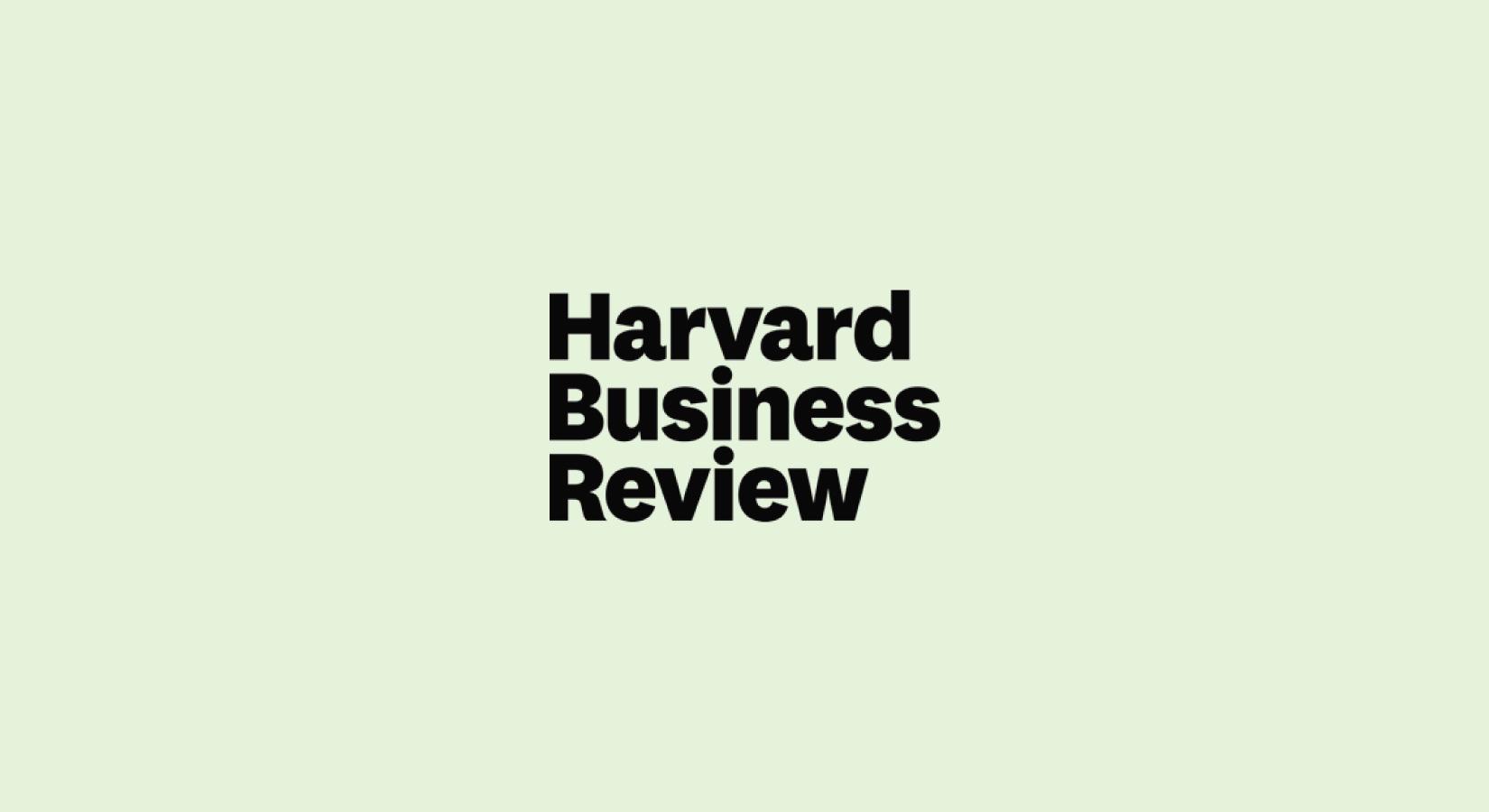 harvard business review - HD1650×900