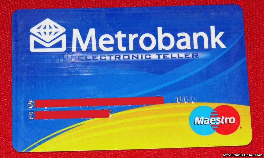 Security Bank Lost Atm Card