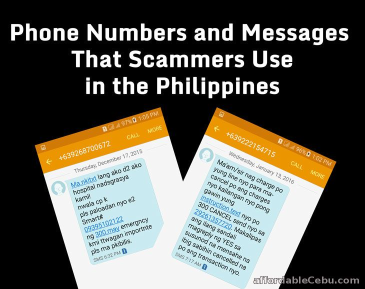 List of Phone Numbers Scammers Use in the Philippines ...