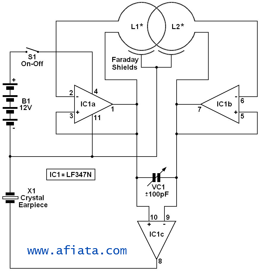Photodetector Circuit Simple Diagram Function Generator