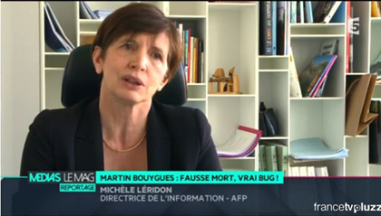 Michèle Léridon, Directrice De L'Information De L'AFP, Interviewée Sur  France 5 | AFP.com