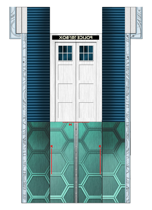 Tardis Interior Doors