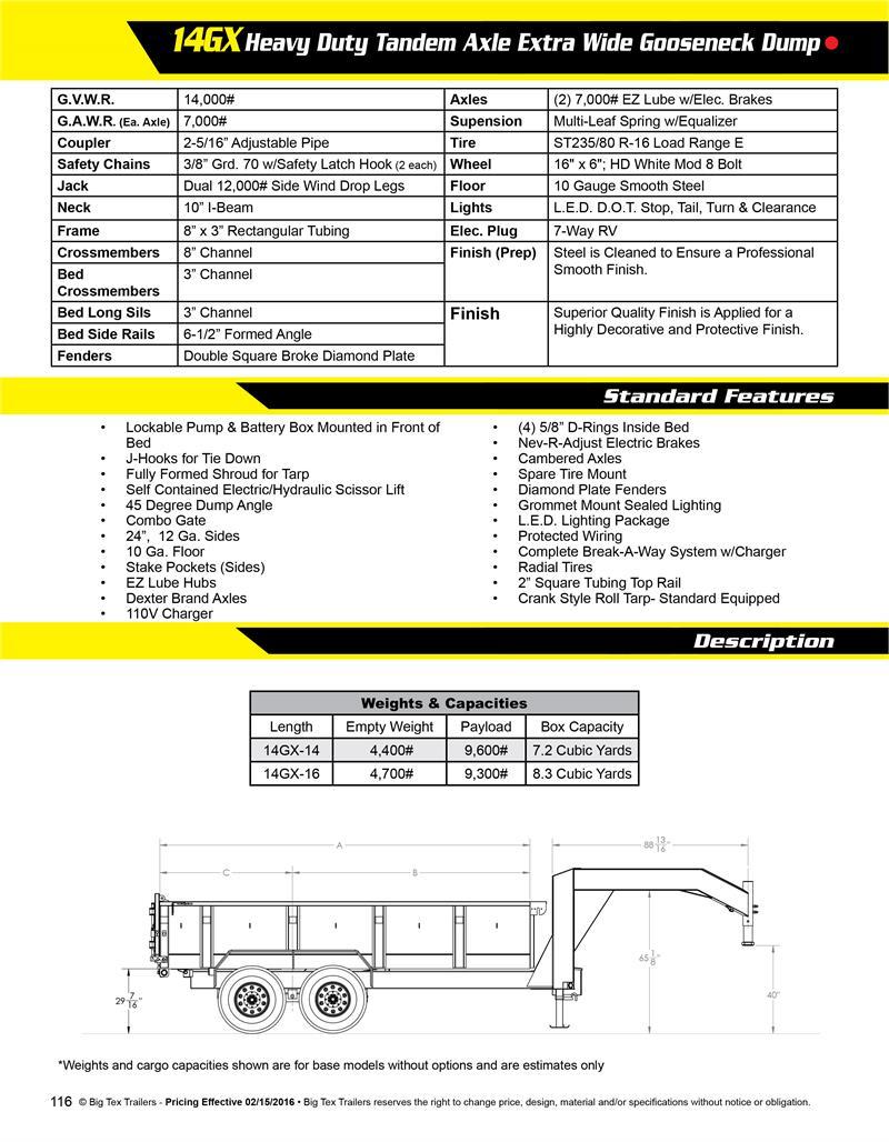 Big Tex Single Axle Utility Trailer On 7 Spade Trailer Wiring ... Tru Tennessee Goosenecks For Trailer Wiring Diagrams on