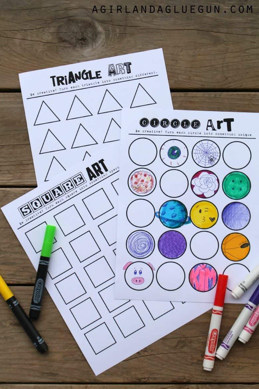 Geometric Rt Pr T Ble Let Your Kids Im G Ti S Run Wild