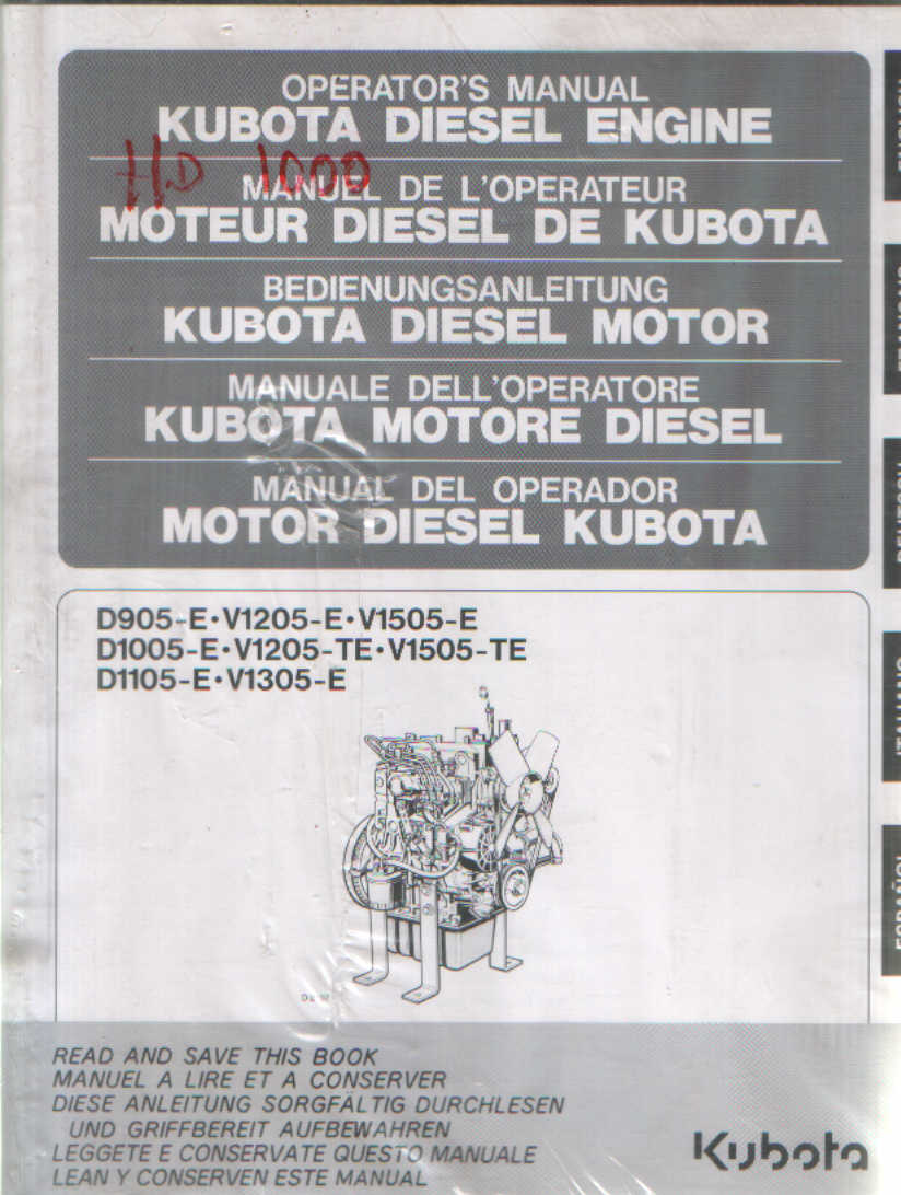 kubota d905 diesel engine break down time lapse Array - kubota d 1105 parts  manual rh