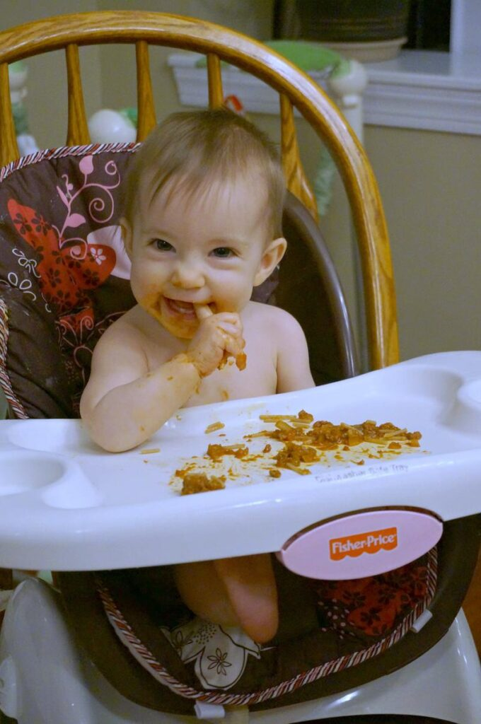 Eating Out 9 Month Old