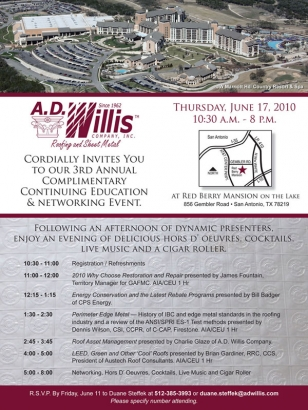 A D Willis Continuing Education Event