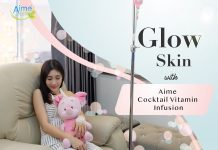 Glow Skin with Aime Cocktail Vitamin Infusion