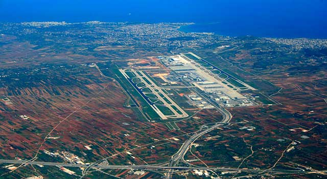 Athens International Airport Arrivals