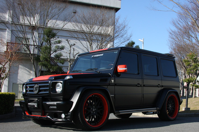 All Black Mercedes G Wagon