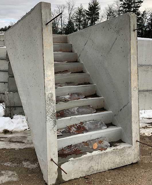 How To Find The Best New Hampshire Precast Concrete Supplier For | Precast Basement Stairs Cost | Basement Egress | Bilco Doors | Bulkhead | Egress Window | Finished Basement