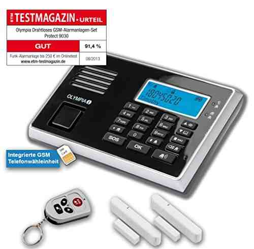 Olympia Wireless Gsm Alarm System 9030