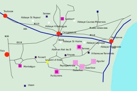 map of carcassonne map of the world map of usa » Full HD MAPS ...
