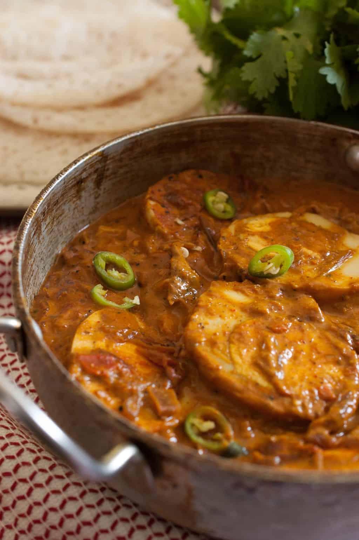 Kerala Egg Curry With Coconut Milk Nadan Mutta Curry