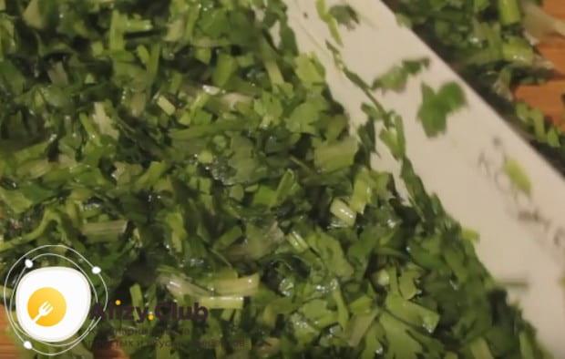grind parsley