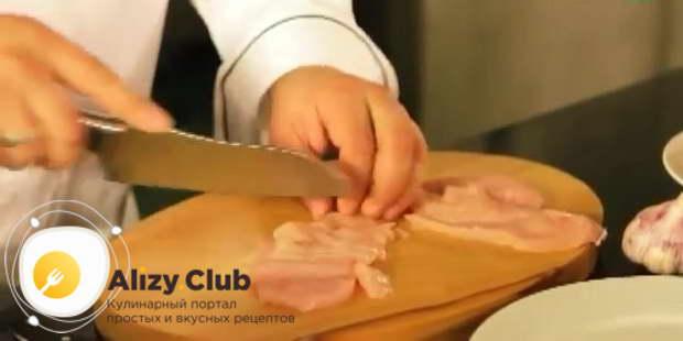Рецепт с фото домашней яичной лапши с курицей