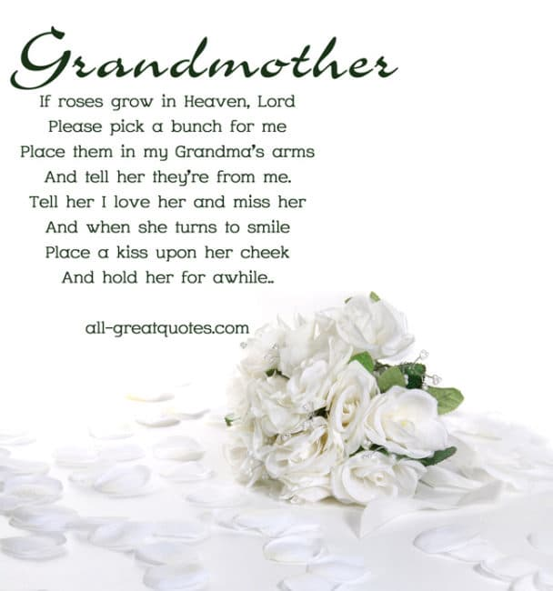 Quotes About Loving Your Grandma