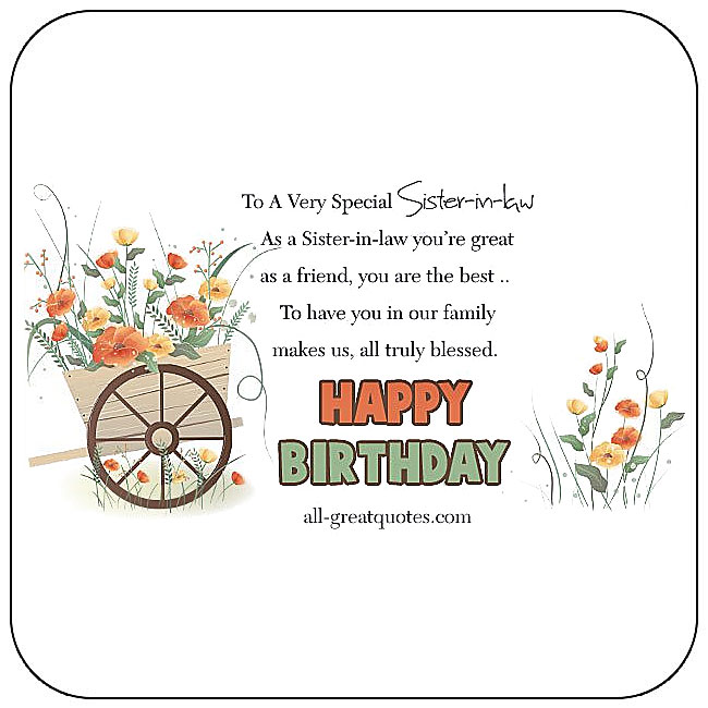 Birthday Sister Facebook Cards Free