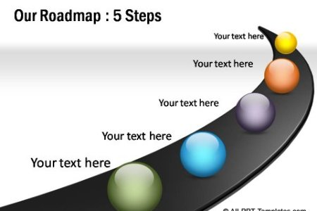 road map powerpoint template full hd pictures 4k ultra full