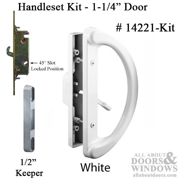 Handles Inch Lock Patio 4 Center Center Door
